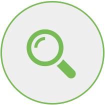 Search and bid for properties icon